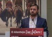 """""""É um desafio que, de alguma forma, já esperava e ambicionava defender os alentejanos e o distrito"""", diz novo presidente da Federação de Évora do PS (C/SOM)"""