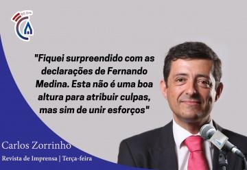 Comentário semanal do eurodeputado Carlos Zorrinho aos microfones da Rádio Campanário (c/som)