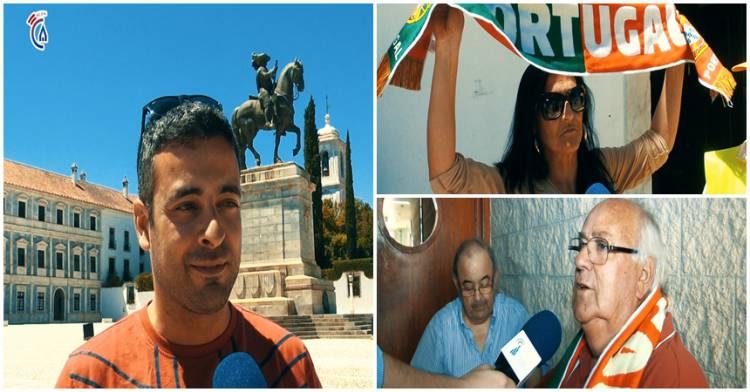 Campanário TV: Adeptos alentejanos esperam vitória de Portugal frente a Espanha (c/video)