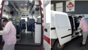 Empresa de Aljustrel ofereceu e realizou desinfeção a 60 viaturas de várias entidades do concelho