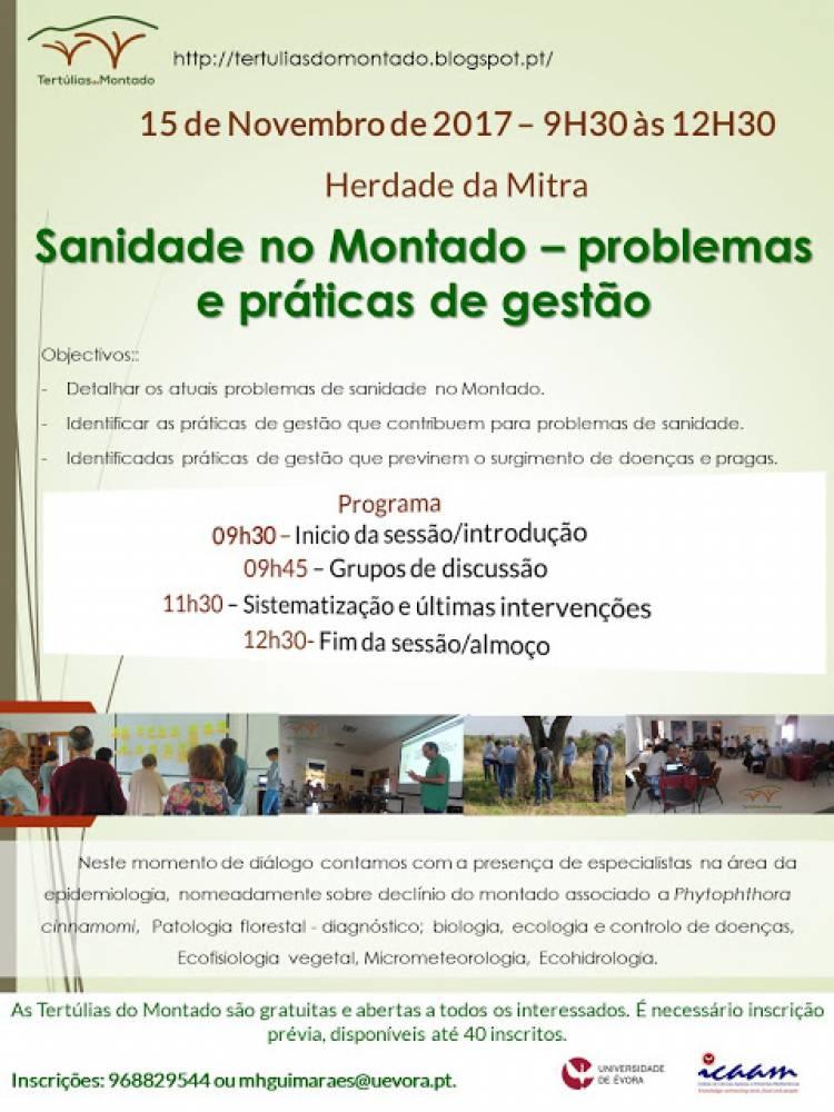 Instituto de Ciências Agrárias e Ambientais Mediterrânicas da Universidade de Évora promove tertúlia