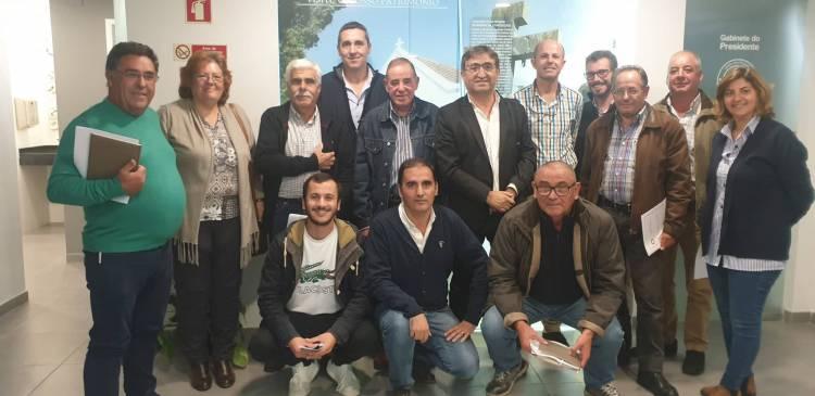 Delegação da ANAFRE reuniu com autarcas do Concelho de Almodôvar