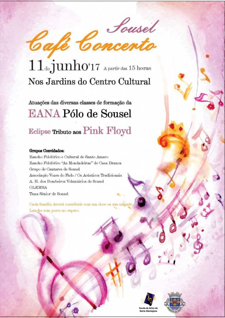 Pólo de Sousel da Escola de Artes do Norte Alentejano promove uma tarde cultural