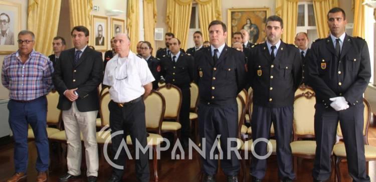 """Elvas homenageou bombeiros pela sua """"prontidão, entrega e disponibilidade"""", diz Presidente do Município (c/som e fotos)"""