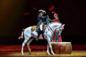 Cavalos Lusitanos  de Alter voltam a brilhar na China