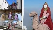 Presépio de figuras em tamanho real regressa às ruas de Monsaraz
