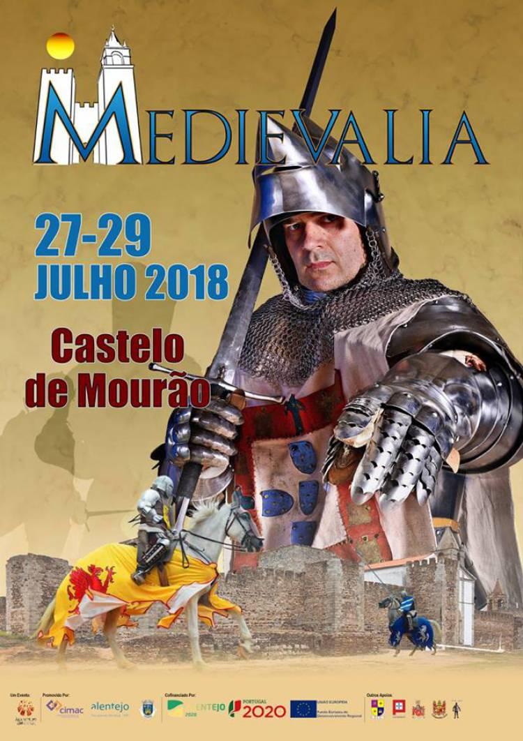 Castelo de Mourão acolhe Feira Medieval de 27 a 29 de julho