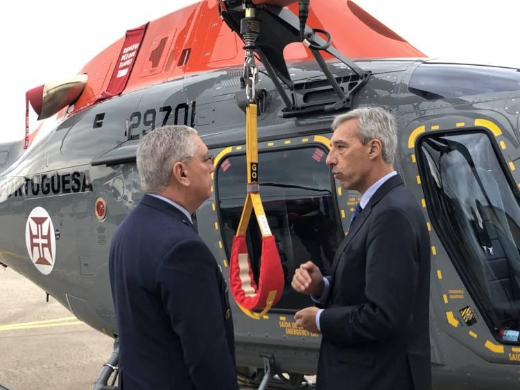 Novos helicópteros da Força Aérea que chegaram ontem a Beja não integram dispositivo de combate a incêndios este ano