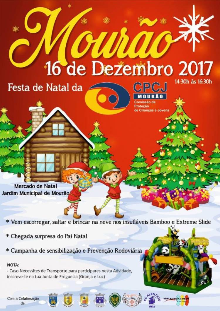 CPCJ de Mourão promove Festa de Natal