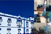 Vacinação contra a covid 19 na Fundação Maria Inácia Vogado Perdigão Silva iniciou-se hoje