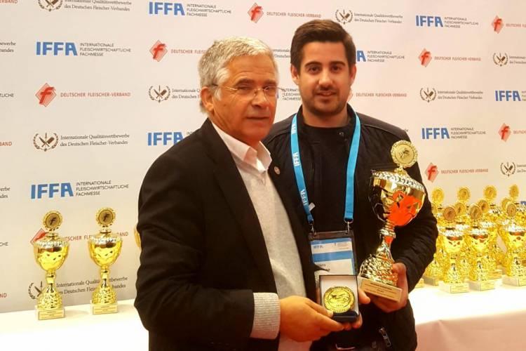 Estremoz: Presunto da SEL distinguido com medalha de ouro em concurso internacional