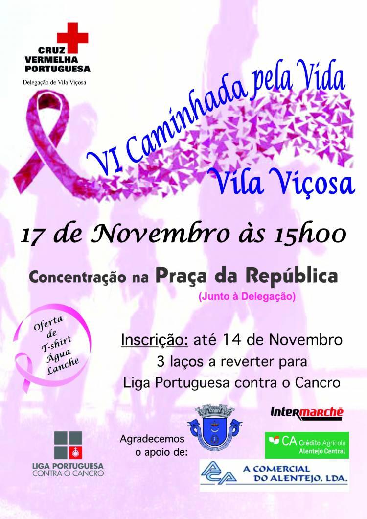 Vila Viçosa: Cruz Vermelha promove caminhada pela vida