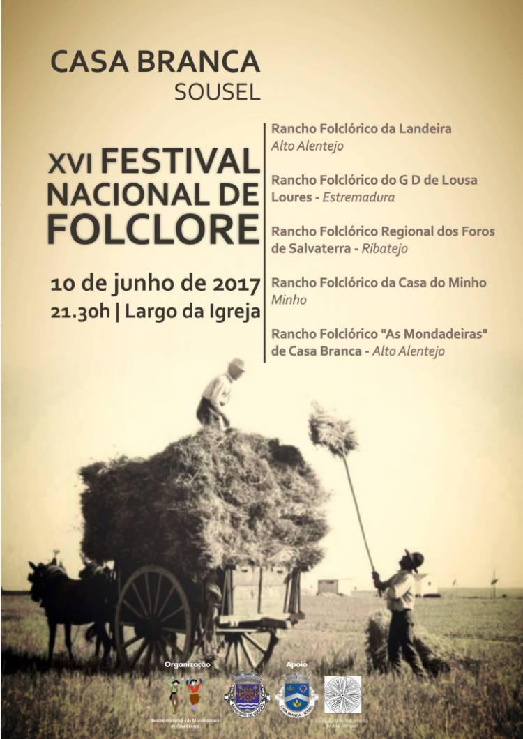 Casa Branca (Sousel) recebe XVI Festival Nacional de Folclore