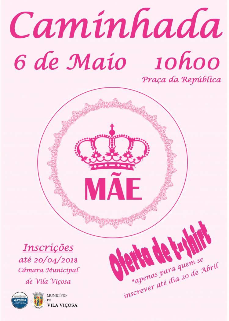 Município de Vila Viçosa realiza Caminhada do Dia da Mãe