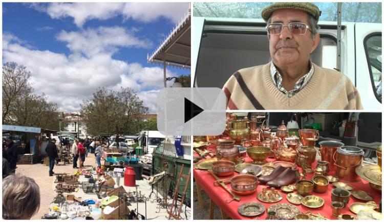 Feira de Antiguidades e Velharias em Estremoz, a maior do Alentejo, uma tradição secular