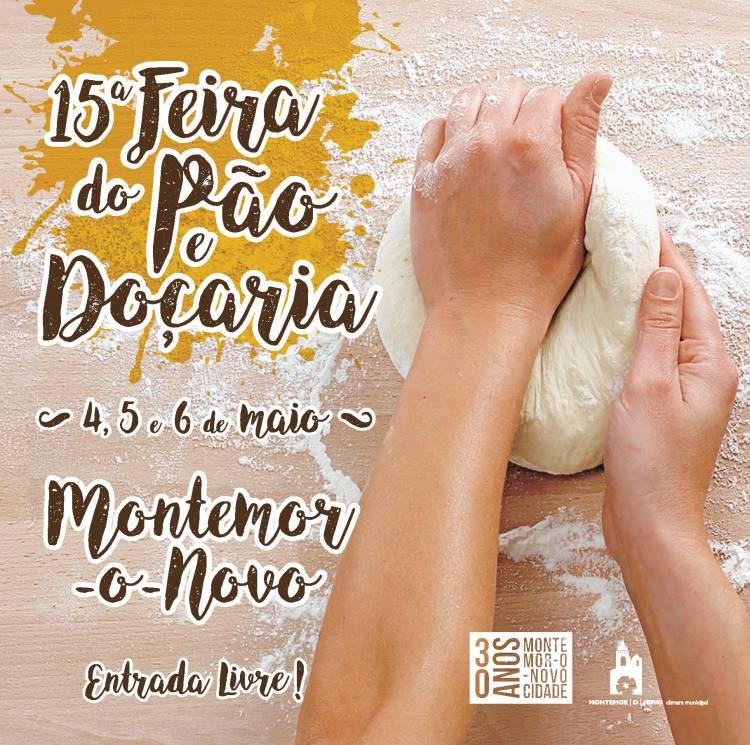Montemor recebe a partir de dia 4 de maio Feira do Pão e Doçaria