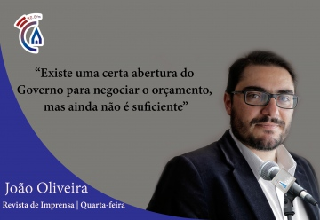 Comentário semanal do deputado João Oliveira aos microfones da Rádio Campanário (c/som)