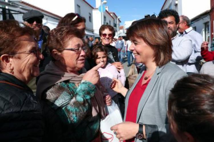 """A agricultura extensiva é a resposta para o desenvolvimento do Alentejo e do país diz Catarina Martins na visita"