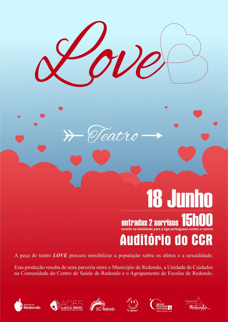 Centro Cultural de Redondo receberá domingo peça de teatro solidária