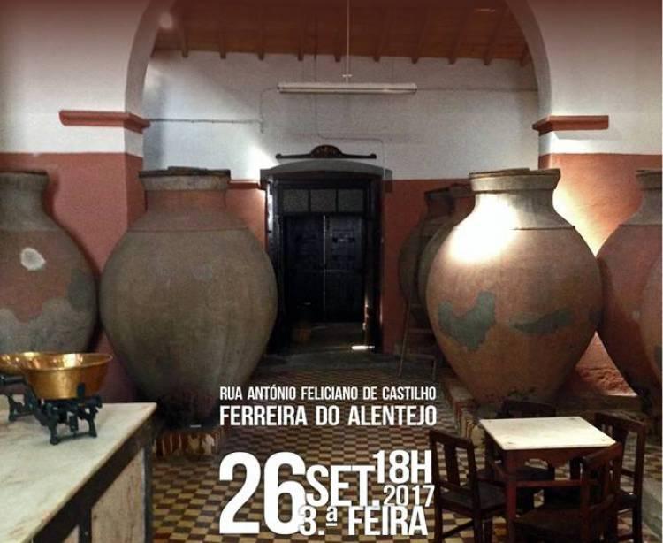 Investimento de 10 mil euros cria casa do Vinho e do Cante em Ferreira do Alentejo