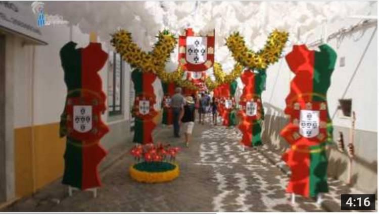 Campanário TV: A cerimónia de inauguração das Ruas Floridas de Redondo 2017