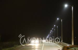 """Circular urbana de Vila Viçosa iluminada para dar """"mais segurança a quem circula naquela via"""", diz Manuel Condenado (c/som)"""
