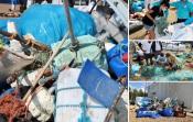 Voluntários da Brigada do Mar retiraram 6 toneladas de lixo nas praias da Costa Alentejana