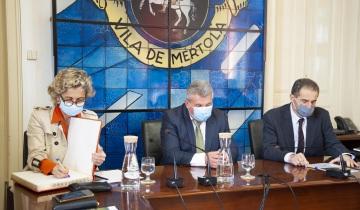 Mértola recebeu visita da Ministra da Coesão Territorial  e do ministro da Ciência, Tecnologia e Ensino Superior