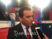 """""""Reguengos não vai sucumbir a este problema, vamos honrar os mortos e reerguer o concelho"""" diz José Calixto (c/som)"""