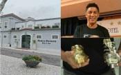 Mário Jardel vem a Vila Viçosa restaurar mármore das Botas de ouro e fica instalado no Hotel Màrmoris