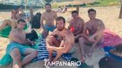 """""""Estamos a gostar muito da praia e da magia do ambiente. Vamos voltar com toda a certeza"""", diz o turista Vicente (c/fotos, vídeo e som)"""