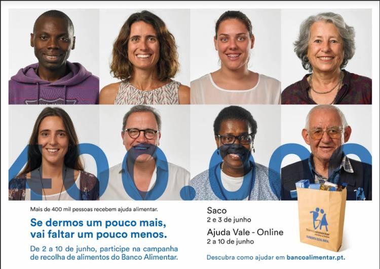 Banco Alimentar contra a Fome faz recolha de alimentos dias 2 e 3 de junho