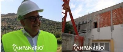 Elvas – Novo Lar da Boa-fé pronto no próximo ano, o anúncio desta tarde pelo Presidente Nuno Mocinha (C/ Som e fotos)