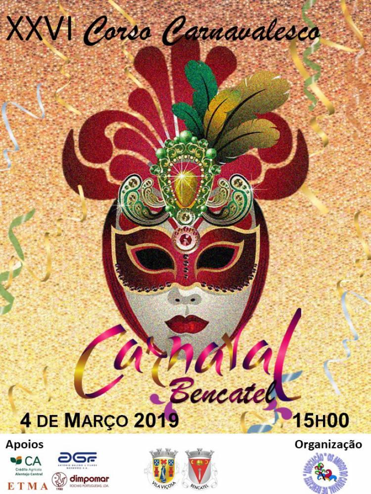 XXVI Corso Carnavalesco em Bencatel