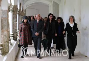 """Évora: Intervenção de 4 milhões vai tornar Mosteiro de S. Bento de Cástris em """"tripé de história, criatividade e cooperação"""", diz Ministra (c/som)"""