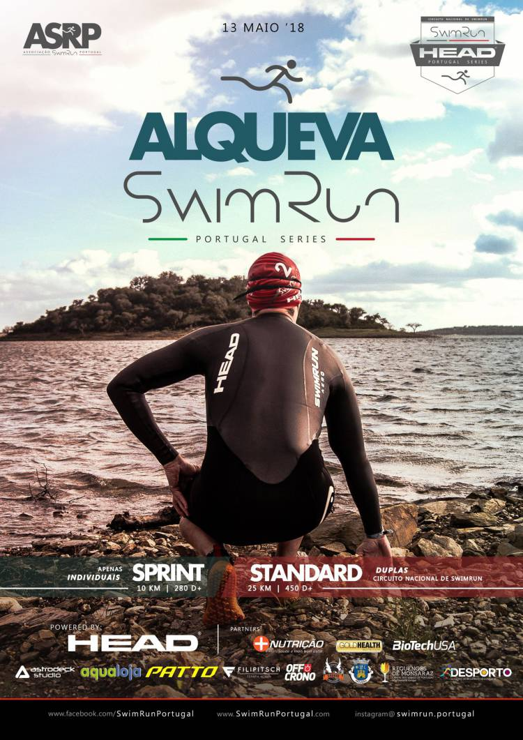 Mais de uma centena de atletas participam no Swimrun do Grande Lago Alqueva