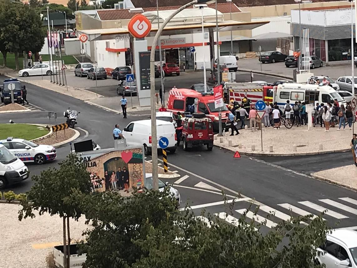 Colisão na cidade de Beja resulta em 3 feridos