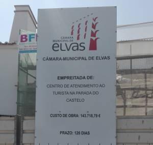 Câmara de Elvas investe mais de 140 mil euros em Centro de Atendimento ao turista