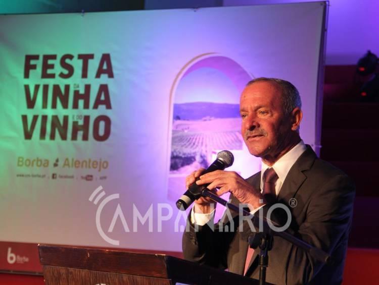 """A """"Festa da Vinha e do Vinho vai ter que ser repensada"""", diz autarca de Borba (c/som)"""