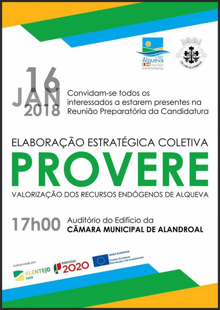 Alandroal recebe reunião para Elaboração de Estratégia Coletiva PROVERE