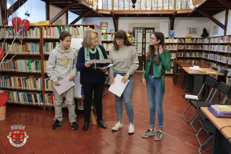 Estão encontrados os alunos que vão representar Estremoz na próxima fase do Campeonato Nacional de Leitura (c/som)