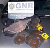 Grândola: Dois homens detidos por furto de catalisador e condução perigosa