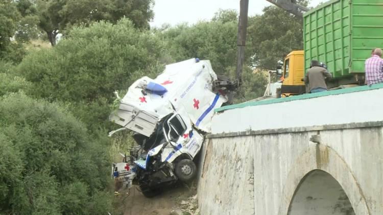 Moura: Ambulância da CV que se despistou não tinha certificação do INEM