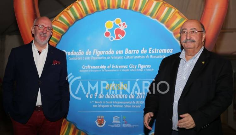 As reações do Presidente de Estremoz e do Presidente da Turismo Alentejo, à classificação do Figurado em Barro (c/som)
