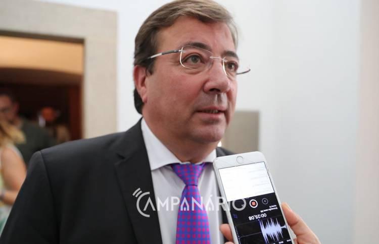 """Alentejo tem """"exatamente os mesmos"""" problemas que o outro lado da fronteira, diz presidente da Junta da Estremadura (c/som)"""