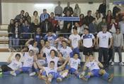 Jogo de emoções fortes sagra Borbense campeão distrital de Futsal de Juniores