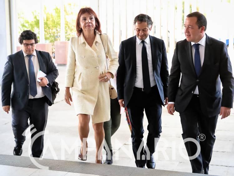 """Ministra quer """"mobilizar"""" autarquias alentejanas """"para que aproveitem disponibilidade de fundos"""" de 150 milhões (c/som e fotos)"""