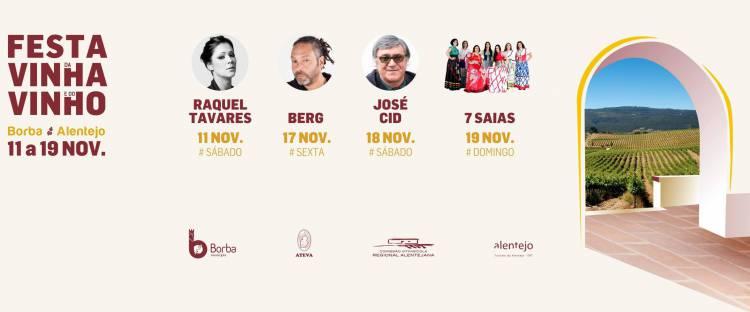 Borba: Conheça os principais nomes do programa musical Festa da Vinha e do Vinho 2017