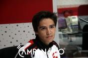 """""""Estar no lote dos 36 melhores do Campeonato do Mundo de Karting já será uma vitória"""", diz jovem piloto Miguel Silva (c/som)"""