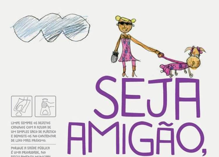 """""""Não envergonhe o seu cão, apanhe o cocó do chão"""" é a campanha lançada pela autarquia e freguesias de Évora"""